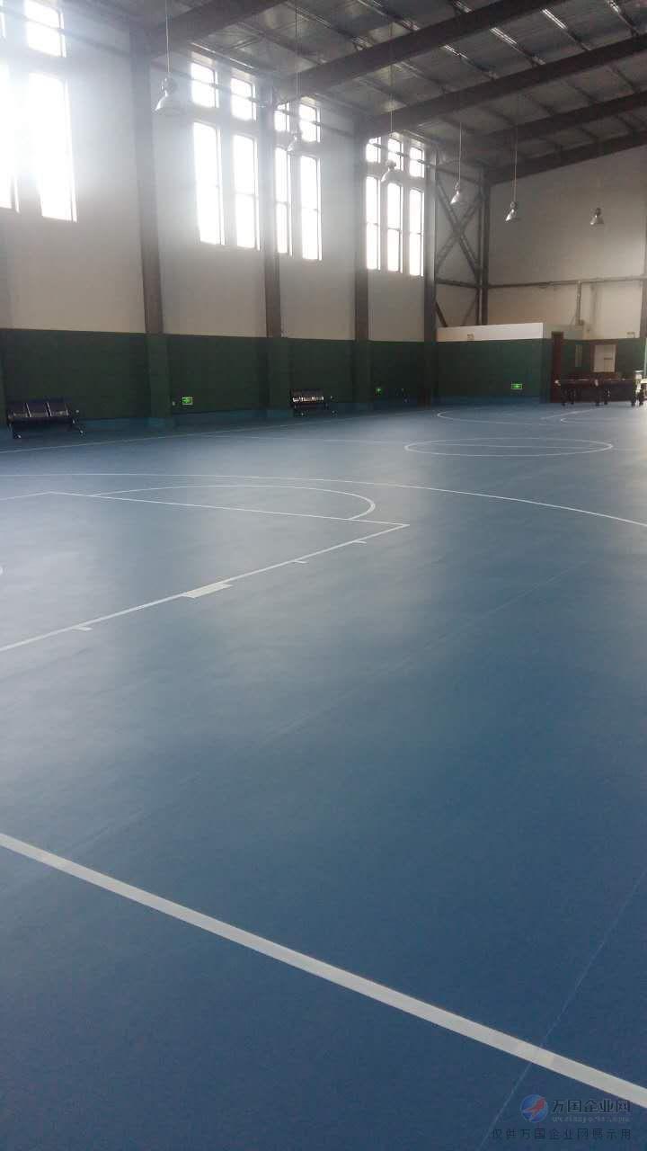 pvc运动地板-体育场地建设-强锐体育