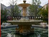 黄锈石水钵花钵雕塑构造建筑景观之美成功案例