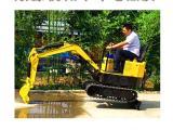新款SY8010履带挖掘机 农用小型挖掘机 果园挖土机