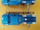 直销蓝色双轴NMRV涡轮减速电机图片型号齐全