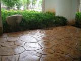 压花混凝土价格彩色压花地坪厂家首选上海桓石价格美丽质量更美丽