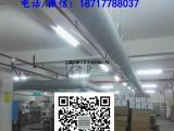 专业定制 布风管 暖通布袋风管 纤维织物空气分布系统