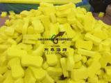 耐高温烙铁头海绵 黄色去锡点海绵