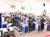出售回收二手丝印机移印机烫金机滚印机热转印机UV机流水线烤箱