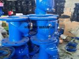 H44X橡胶瓣止回阀用于给排水系统