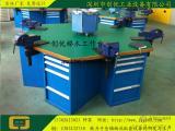 钳工台/六角钳工台/六边形工作台/六工位钳工作业台