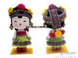 中国民族卡通公仔雕塑定制批发零售厂家-港城雕塑