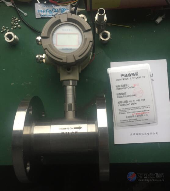 技术设计的新型流量计显示仪表,与脉冲信号输出的流量传感器(如涡轮