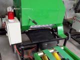 同盛机械做的青储打包机的草料压实度可调