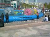 上海火爆夏日水上娱乐水上滚筒出租上海水上步行球租赁