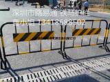 深圳不锈钢铁马出售 铁马护栏龙华附近厂家,隔离铁马作用