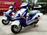 72v2轮电动巡逻车价格72v带边箱电动两轮摩托车