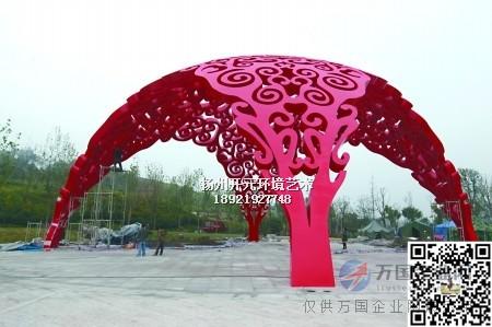 主题性雕塑灯 城市景观灯光雕塑 厂家直销不锈钢发光