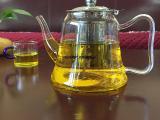 耐热玻璃养生壶 玻璃茶具玻璃蒸茶器 电磁炉煮茶壶批发