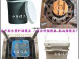 注塑模具公司 八角定位双口液体塑料桶模具 双口食品桶模具制造