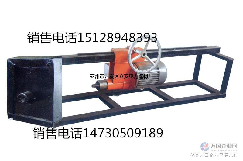 上置式电机水钻顶管机图片