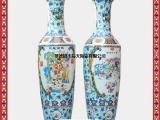 定做图片 优质手绘画师大花瓶 开业节日礼品  景德镇陶瓷厂家