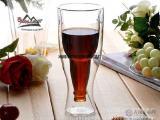 厂家直销创意翻转双层啤酒杯