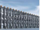自动门 电动伸缩门 不锈钢伸缩门 多少钱一米 厂家价格优惠