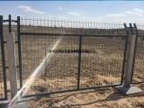 铁路金属网片防护栅栏_桥下防护栅栏_高铁防护栅栏