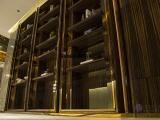 酒店木饰面厂家供货南山售楼中心饰面板工程案例