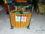 环畅供应hc3240户外分类钢木垃圾桶 环畅垃圾桶坚固耐用