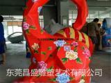 楼盘商业庆典玻璃钢纤维彩绘大象模型雕塑定做玻璃钢立体大象雕塑