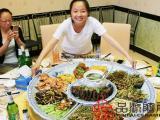 找港湾海鲜大排档特大海鲜瓷盘、特大号装菜大盘