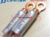 接线端子出口型线耳 上炬DTL-2-120欧标过渡铜铝线鼻子