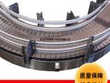 东莞生产厂家坚成电子板链输送线BLN22不锈钢大倾角输送机