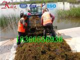 水葫芦收割清理机器 水面杂草打捞船多少钱