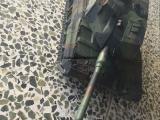 新款方向盘遥控坦克 金属坦克履带自主研发