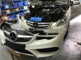 奔驰E260.300老款改装新款 LED智能大灯新款前杠总成