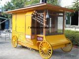 欢乐谷主题卡通售货车 移动售卖车 玩具手推车