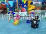 室内儿童水上乐园带滑梯戏水游泳池设备厂家推荐多大面积合适