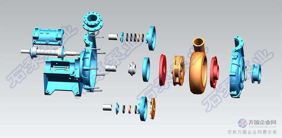 zj系列渣浆泵结构特点