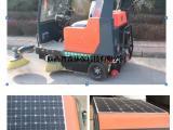 陕西普森电动清洁扫地车、驾驶式扫地车