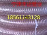 丰运批发板式家具用吸尘管PU透明钢丝软管聚氨酯伸缩风管