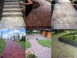 细说 彩色压模地面,水泥压花路面 各施工工艺步骤的操作要点