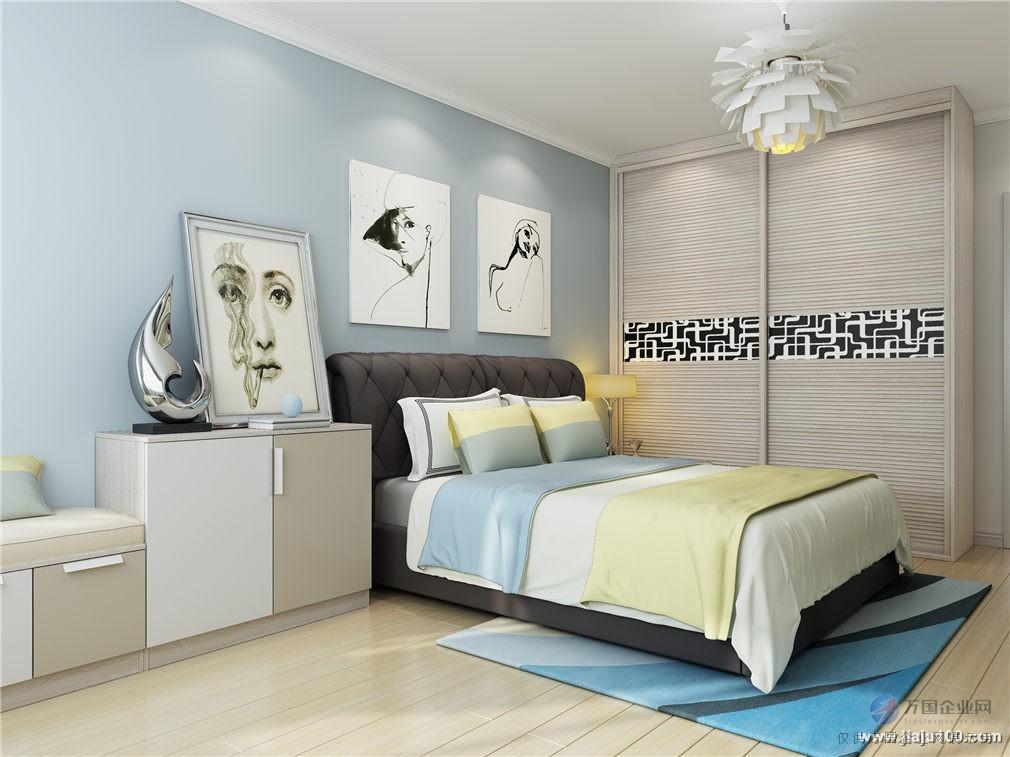 现代时尚风全屋定制,餐边柜与电视柜一体化设计