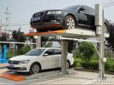双立柱简易升降车库价格 智能车库设备安装
