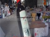 来图定制立体玻璃钢仿真红酒瓶模型雕塑