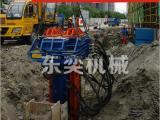 工法桩拔桩机可以拔起多大的工字钢H型钢