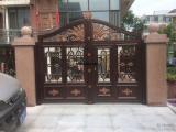 铝艺大门、庭院大门专业批发厂家