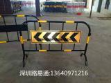 深圳国家标准带牌施工铁马护栏多少钱一个 深圳铁马定制