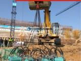 破除桥梁桩混凝土桩头用的新式液压破桩机