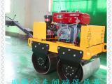 小型9马力柴油压路机双辊液压转向轧道机修路用压土机