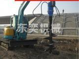 挖掘机螺旋钻机适用于什么土质使用