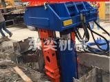 专业回收拔H型钢的设备-液压拔桩机