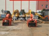 挖掘机打桩机现场展示